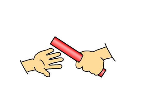 Baton touch