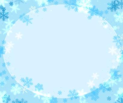 Cute Snow Frame 2