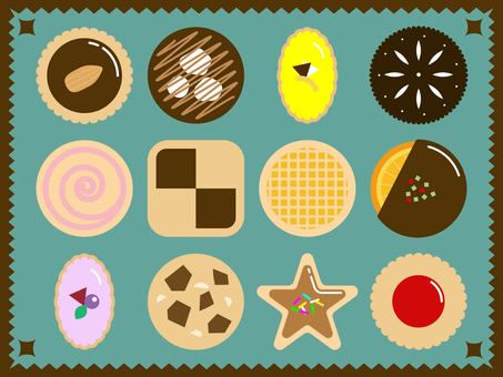 12 types of cookie sets