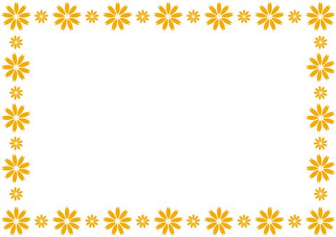 Frame - Flower Enclosure - Orange