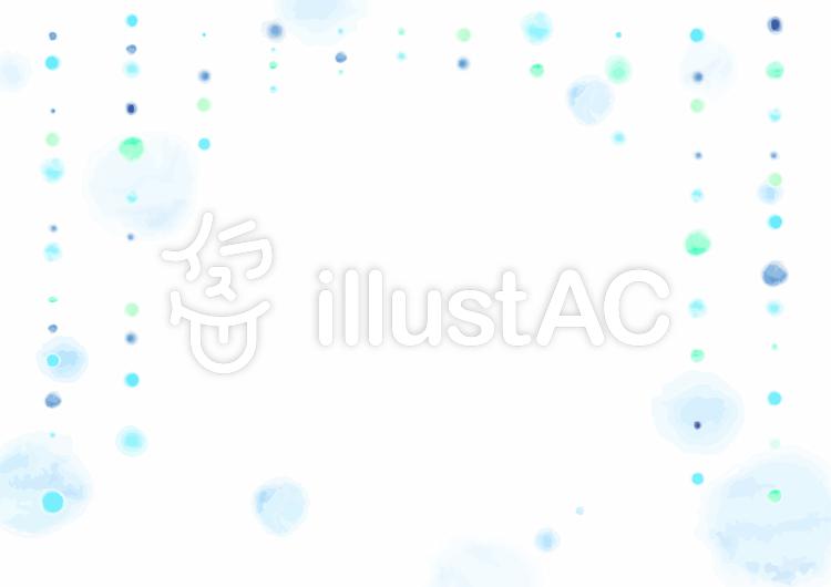 水彩画風背景素材_レイン01のイラスト