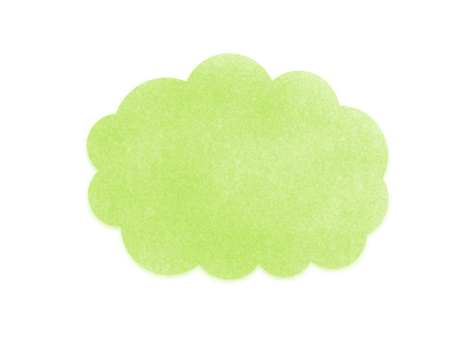 구름의 프레임 (녹색)