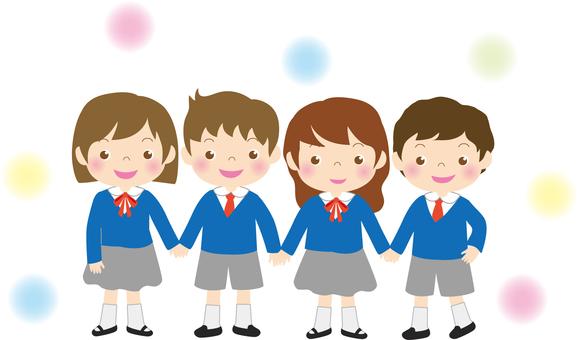 4 students