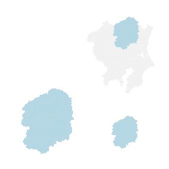 Dot map Persimmon 2