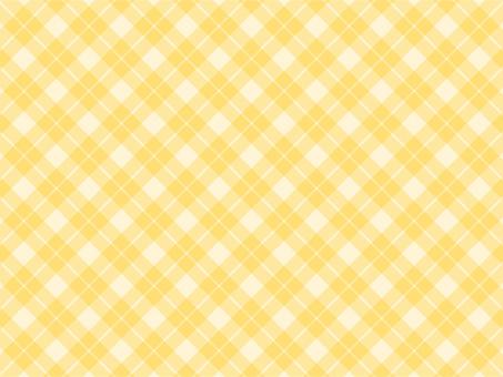 Gingham cloth yellow