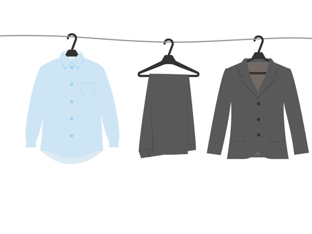 Suit and shirt laundry