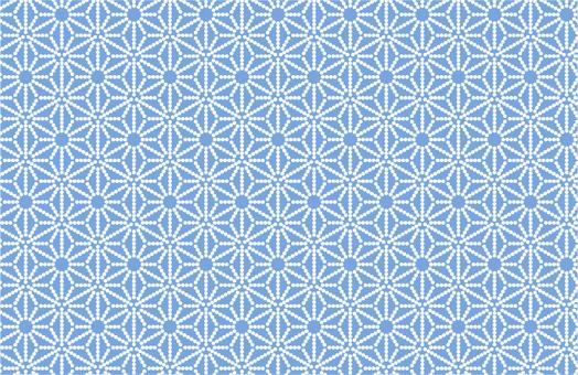 Hemp leaf pattern _ dot
