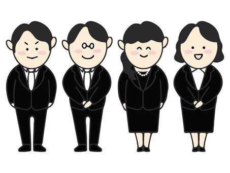 Formal suit men and women