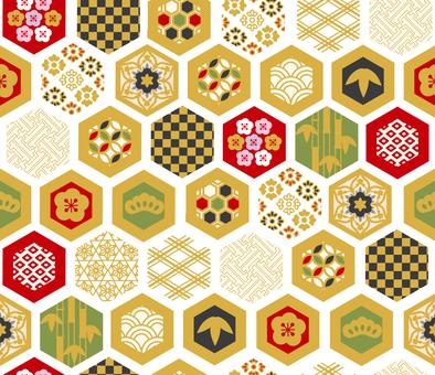 Chiyogami Tile 03
