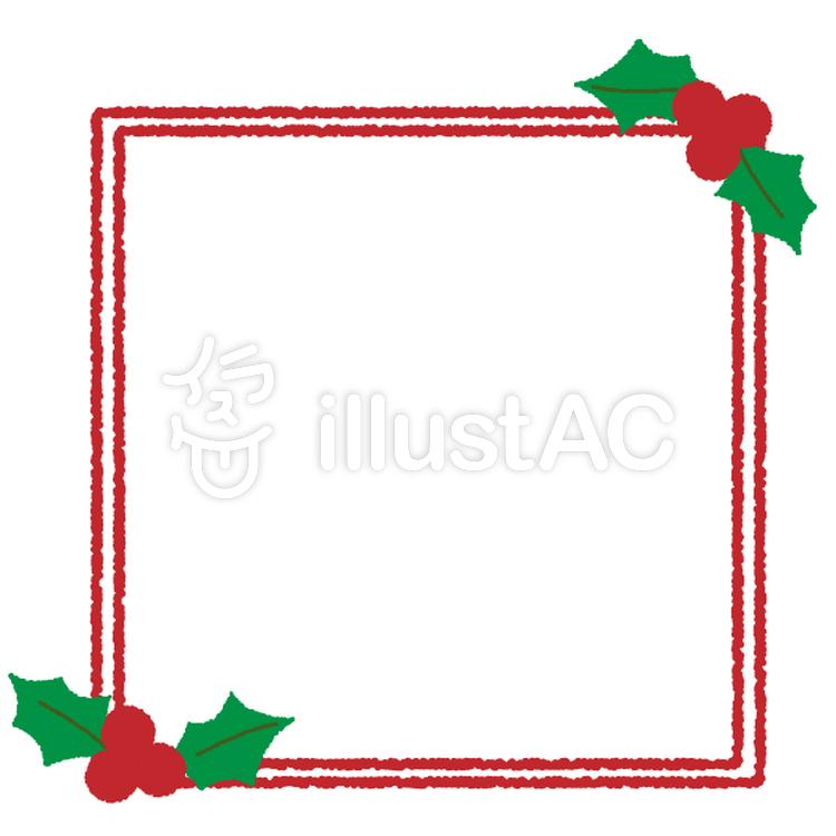 クリスマス枠イラスト No 271962無料イラストならイラストac