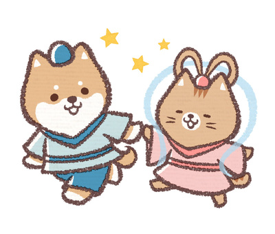 Tanabata dog cat