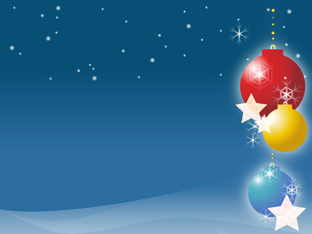 Christmas ornament background 3