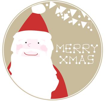 圣诞老人的圣诞贺卡