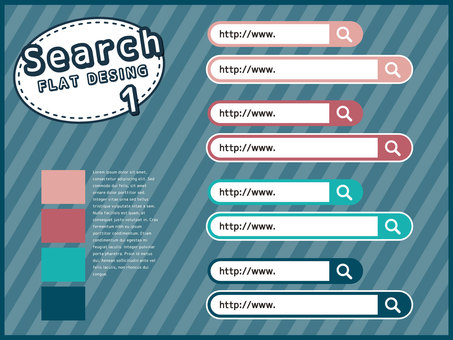 Search window material set <01>