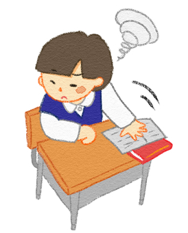 Concentration breaks Studying dislike boy