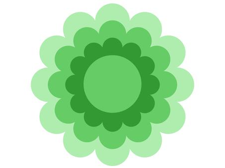 花型(綠色)