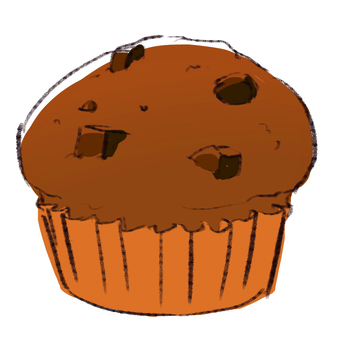 Chocolate muffin 001