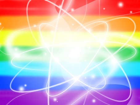 Background · The glow of the heart Rainbow