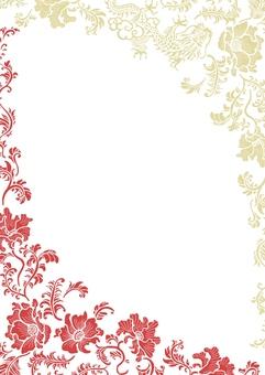 Chinese pattern frame