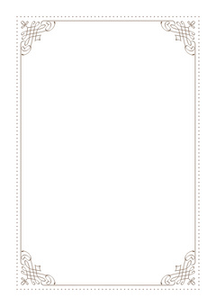 Simple decorative frame 4