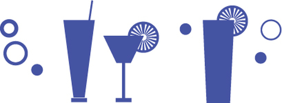 Drink Image Blue