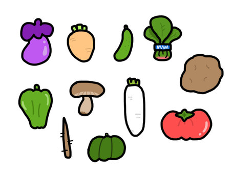 Vegetable (with color)