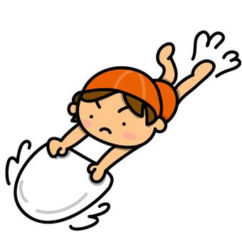 수영 연습하는 여자