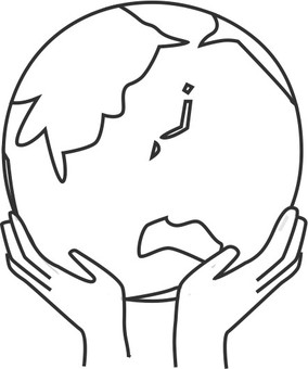 Earth with both hands