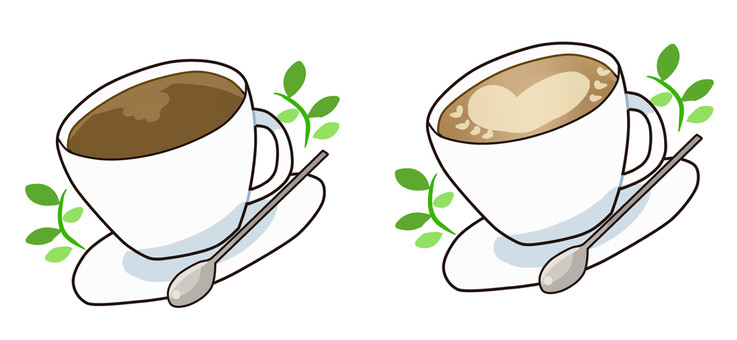 【Food】 Coffee · Cafe latte