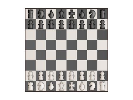 Chess arrangement