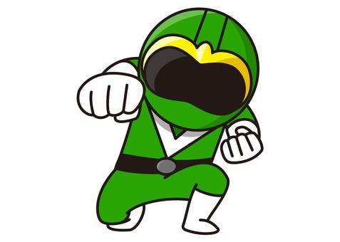 Green Ranger - Punch