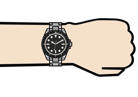 다이버 시계