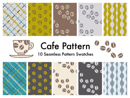 Cafe pattern 2