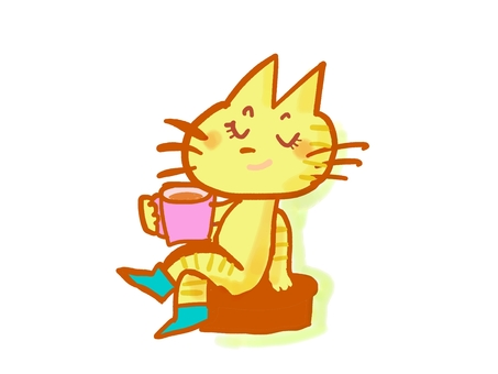 Posi neko tea time