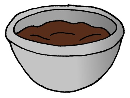 Chocolate water boiling