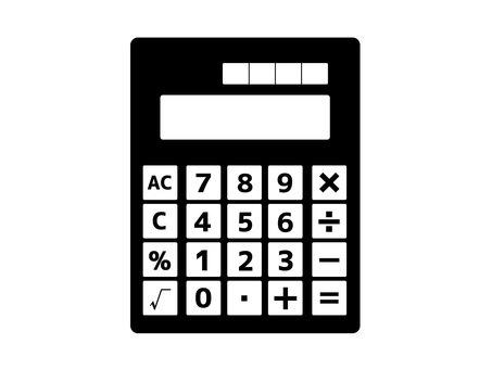 Calculator / Calculator Silhouette