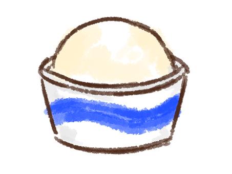 Crayon series [cup / vanilla]