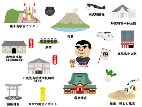 Tourist Attractions in Kagoshima 1