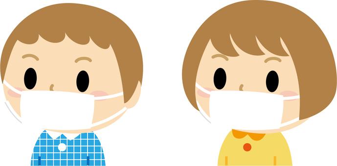 Masked boy Girl 2 (sideways)