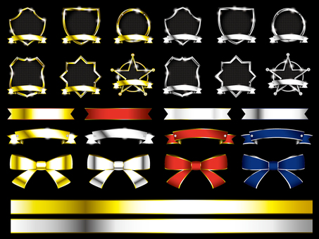 Ribbon · Emblem Set