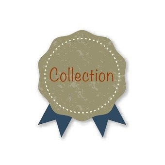 Collection (blue ribbon emblem)