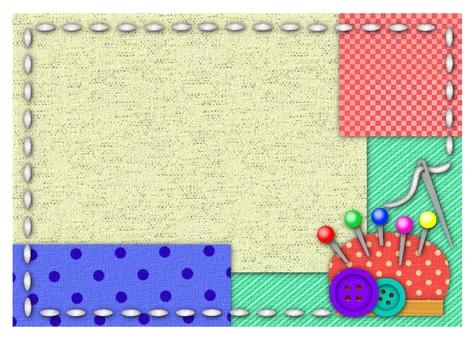Craft frame background