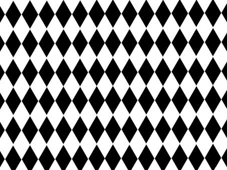 Black and white tile 2