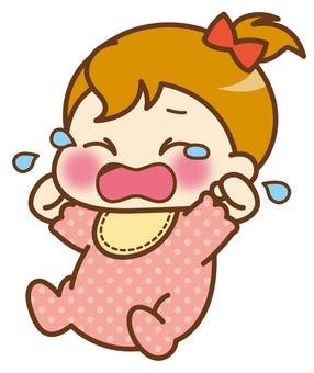 Baby (girl) * I cry