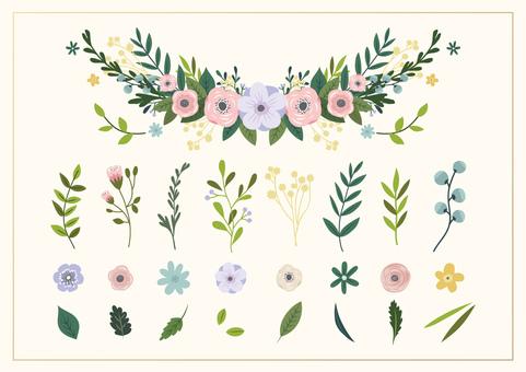 꽃 요소 01