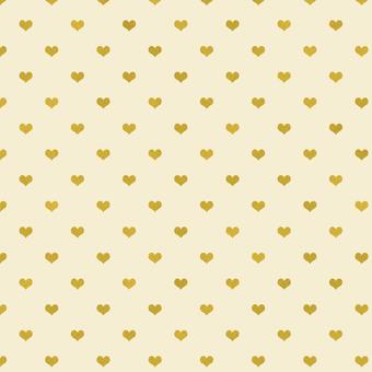 Heart Pattern Yellow
