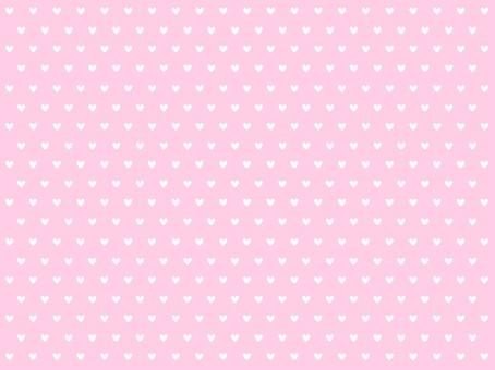 Heart Dot Background Pink 1