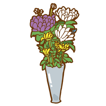 Tomb flower