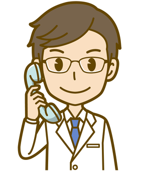Male (doctor): A_ phone 01BS