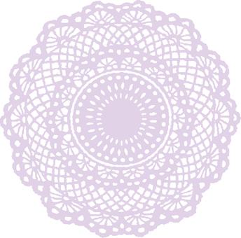 Lace-purple